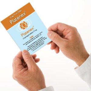 Doctor's holding a prescription.