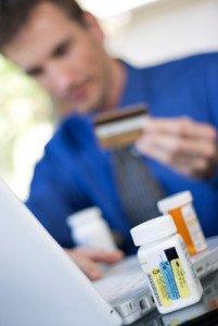 Filling Prescription Refills Online Stock Image - AlphaScript